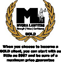 Mycra Lawyers GOLD Fixed Fee Guarantee