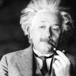 This undated file photo shows famed physicist Albert Einstein. Scientists at the European Organization for Nuclear Research, or CERN, the world's largest physics lab, say they have clocked subatomic particles, called neutrinos, traveling faster than light, a feat that, if true, would break a fundamental pillar of science, the idea that nothing is supposed to move faster than light, at least according to Einstein's special theory of relativity: The famous E (equals) mc2 equation. That stands for energy equals mass times the speed of light squared. The readings have so astounded researchers that they are asking others to independently verify the measurements before claiming an actual discovery. (AP Photo)