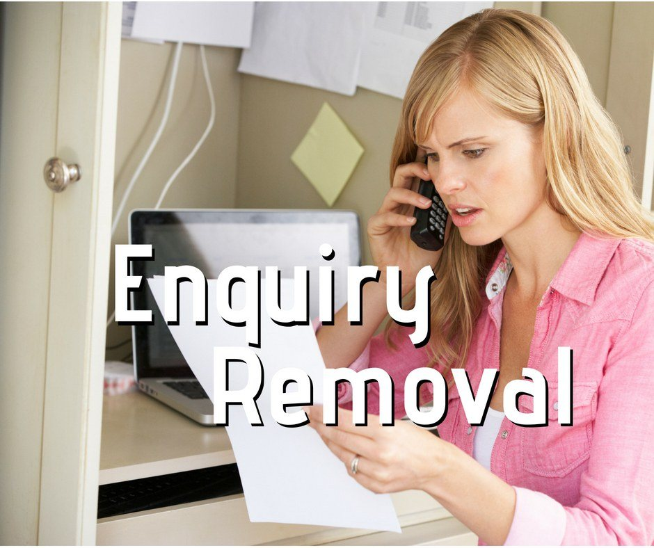Enquiry removal image link