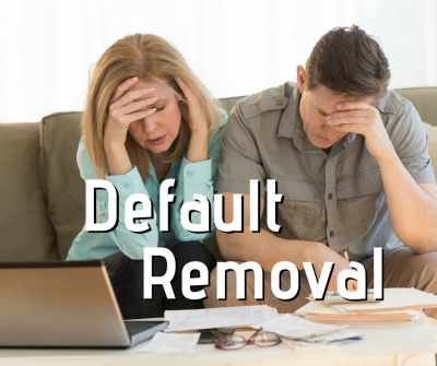 Default Removal by MyCRA Lawyers