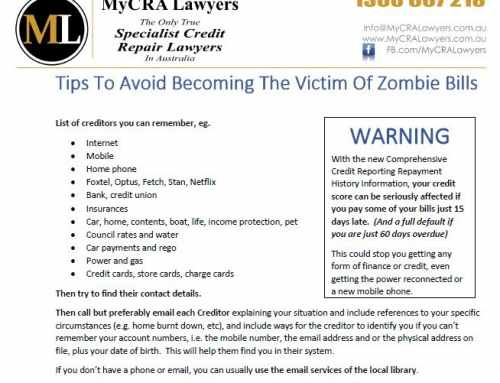 DOWNLOAD – How To Avoid Becoming The Victim Of Zombie Bills