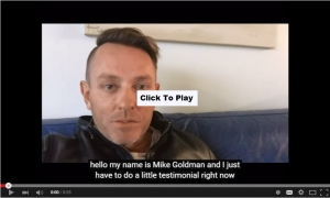 Mike Goldman thanks MyCRA Lawyers